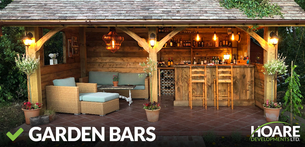 garden bars and garden buildings construction