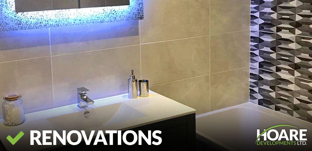 interior renovations and bathroom renovations