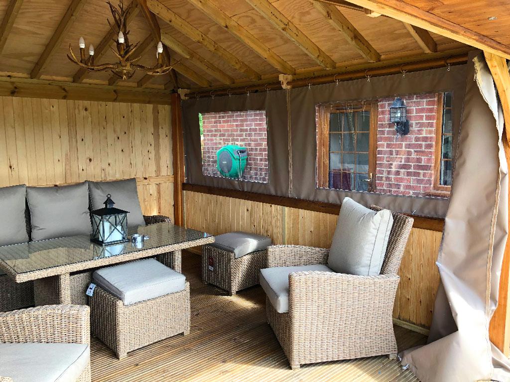 Garden Cabins Build